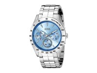 Guess U0719g1 Portfolio Silver Sport Watches