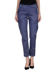Individual Trousers Casual Trousers Women Pastel Blue