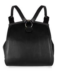 F.E.V. Wild Leather Backpack Black