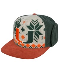 Top Of The World Miami Hurricanes Christmas Sweater Strapback Cap