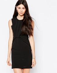 By Zoe By Zoe Sleeveless Shift Dress With Knot Front Nuit