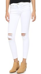 Rag And Bone The Capri Jeans White