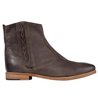 Jigsaw Charlie Ankle Boots Chocolate