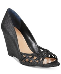 Styleandco. Style Co. Cathiee Evening Wedge Pumps Only At Macy's Women's Shoes Black