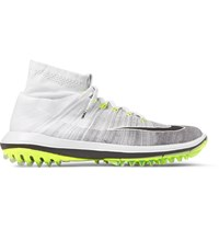 Nike Golf Flyknit Elite Golf Shoes Gray