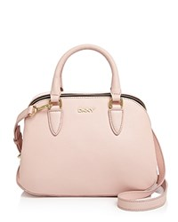Dkny Small Vintage Leather Satchel Light Pink