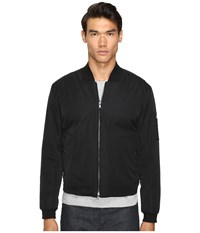 Vince Utility Bomber Jacket Black Men's Coat