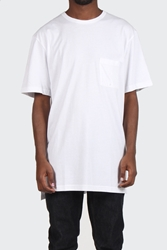 Good As Gold Online Clothing Store Mens And Womens Fashion Streetwear Nz Long Pocket T Shirt White