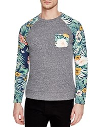 Sovereign Code Jive Floral Sweatshirt 100 Bloomingdale's Exclusive Navy Floral