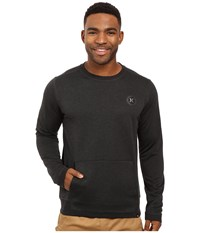 Hurley Dri Fit Disperse Crew Black Men's Clothing