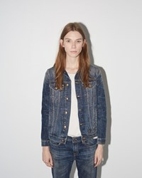 R 13 Tailored Trucker Jacket Nolita Blue
