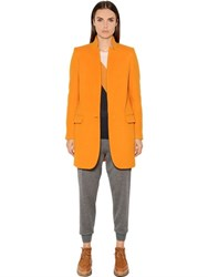 Stella Mccartney Wool Blend Melton Coat