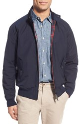 Men's Baracuta 'G9' Water Repellent Harrington Jacket Marine