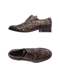 Maliparmi Lace Up Shoes Dark Brown