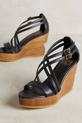 Anthropologie Fortress Of Inca Julia Wedges Black