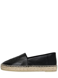 Kenzo 20Mm Tiger Leather Espadrilles