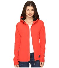 O'neill Solo Softshell Poppy Red Women's Clothing