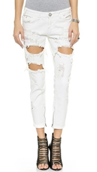 One Teaspoon Freebird Jeans Pure White