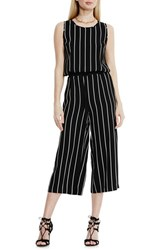 Women's Vince Camuto Stripe Crop Jumpsuit
