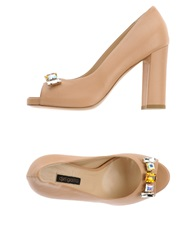 Del Gatto Pumps Beige