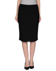 Jucca Knee Length Skirts Black