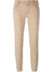 Jacob Cohen Classic Skinny Jeans Nude And Neutrals