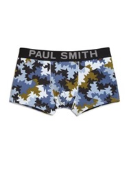 Paul Smith Abstract Camouflage Briefs Multicolor