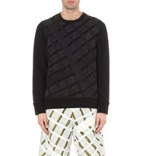 Christopher Raeburn Airbreak Cotton Sweatshirt Black