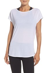 Zella Women's Arabesque Convertible Tee White
