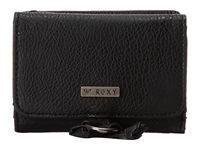 Roxy Dreamer Tri Fold Wallet True Black Wallet Handbags