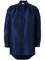 Ashish Tie Neck Shirt Blue