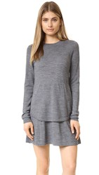 Susana Monaco Frankie Merino Sweater Dress Sidewalk