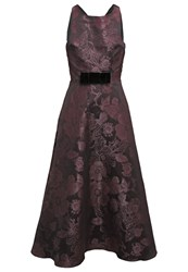 Swing Cocktail Dress Party Dress Aubergine Black
