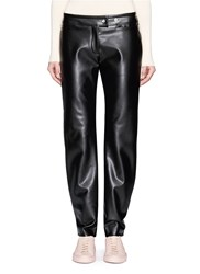 Acne Studios 'Svanborg' Faux Leather Biker Pants Black