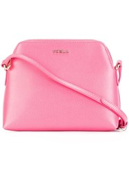 Furla 'Boheme' Set Of Three Pouches Pink And Purple