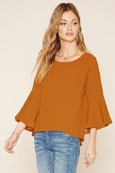 Forever 21 Contemporary Slit Back Top