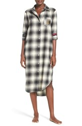 Lauren Ralph Lauren Women's Plaid Woven Sleep Shirt