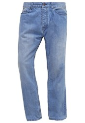 Dickies Pensacola Relaxed Fit Jeans Bleach Wash Light Blue Denim
