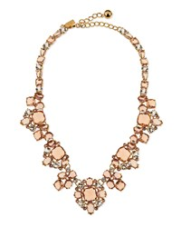 Make Me Blush Crystal Statement Necklace Kate Spade New York Pink Multi