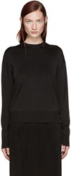 Givenchy Black Coin Zip Sweater