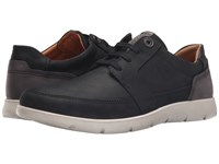 Ecco Iowa Tie Black Licorice Men's Lace Up Casual Shoes