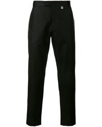 Christopher Kane Cotton Blend Tailored Trousers Black