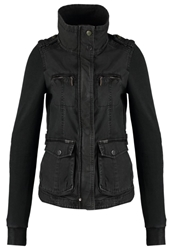 Khujo Snug Summer Jacket Charcoal Anthracite