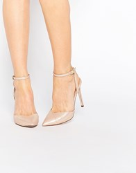 Asos Pavillion Pointed High Heels Beige