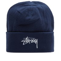 Stussy Polar Fleece Beanie Blue