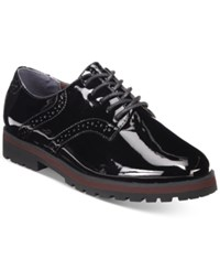 White Mountain Gilly Lace Up Oxfords Women's Shoes Black