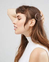 Johnny Loves Rosie Rose Gold Circle Hair Clip Rose Gold