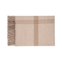 Johnstons Of Elgin Simple Check Cashmere Throw