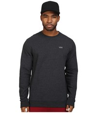 Vans Core Basics Crew Fleece Iv Black Heather Men's Fleece