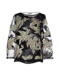 Dries Van Noten Shirts Blouses Women Black
